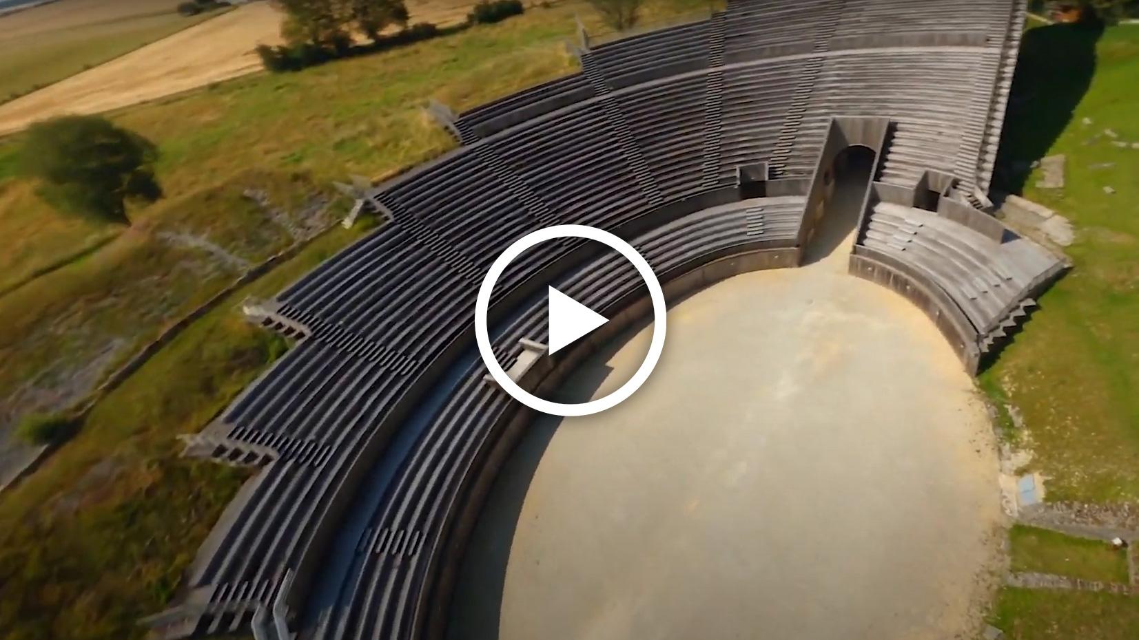 Vidéo - l'amphithéâtre à 360°