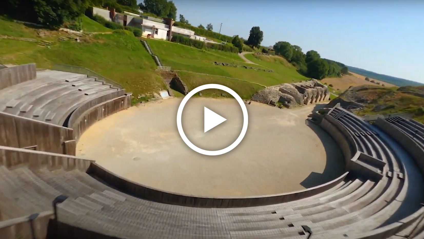 Vidéo - la traversée de l'arène